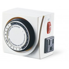 Dual Outlet 24 Hour Grounded Timer