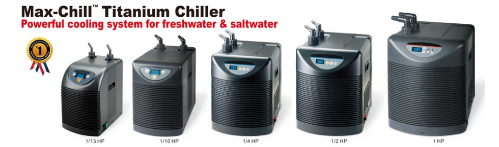 Max Chill Titanium Chillers